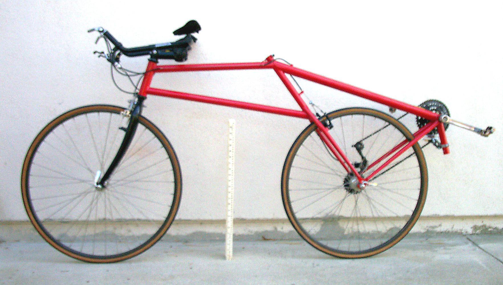 Semi Prone Bicycle